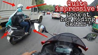I am Impressed by her Riding Skills | Rider Girl