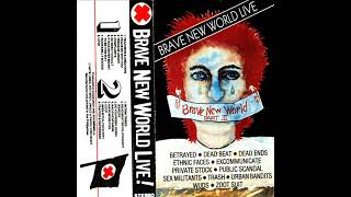 Brave New World Live 1985 Full Album Twisted Red Cross Pinoy Punk Rock Hobbyph.com