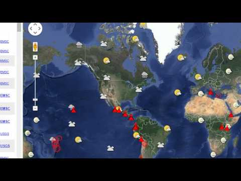 Earthquake, Volcano and Sun Activity Update  5/6/15