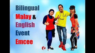Bilingual English Malay Emcee Master of Ceremonies Showreel Dr Elmi Zulkarnain