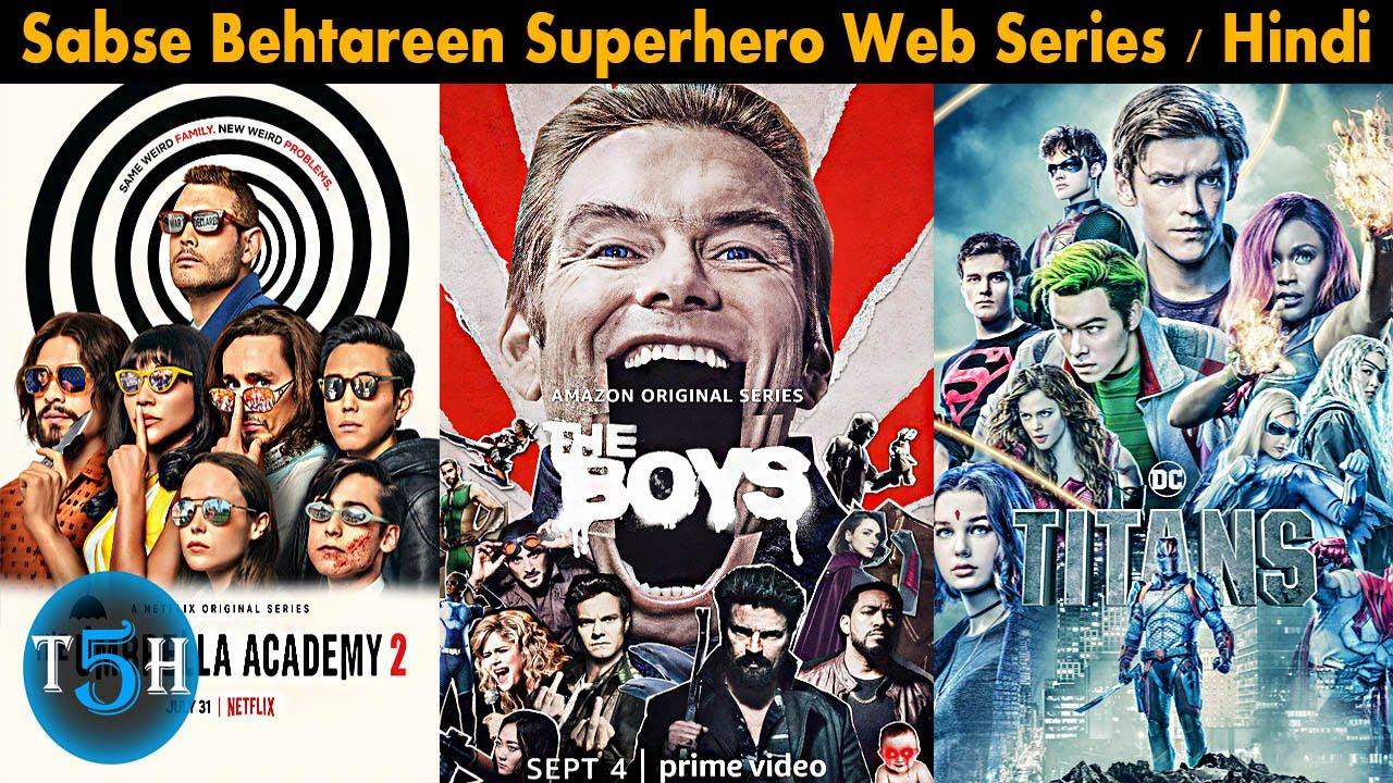 Download Top 5 Best Superhero Web Series in Hindi Dubbed || Top 5 Hindi