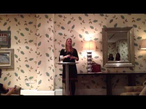 Veritey Launch Sarah Wynter