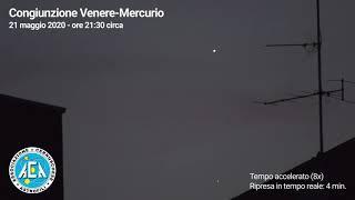 Congiunzione Venere-Mercurio