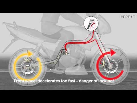 Safe Motorcycle driving with ABS from Continental