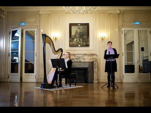 Texte von Maria Zanders zur Weihnachtszeit. Gelesen von Petra Bohlig, begleitet von Anna Schmidt