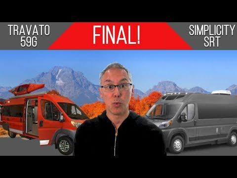 Simplicity SRT vs Travato 59G   Affordable Assault Final   Best Affordable Class B Camper Van