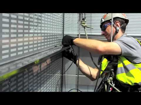 Rope Access music video London Heron Tower 2011