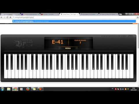 Virtual Piano - Für Elise & Happy Birthday