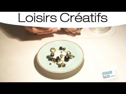 fabriquer un bracelet sur fil elastique youtube. Black Bedroom Furniture Sets. Home Design Ideas