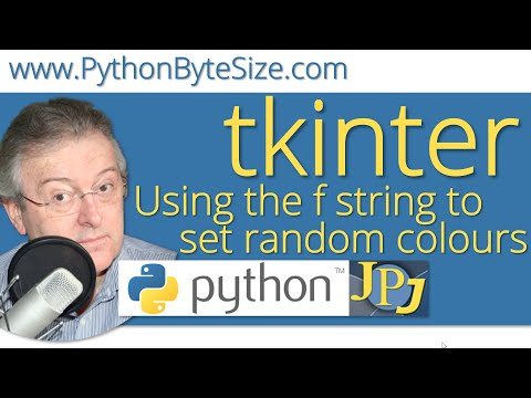 Using the f string to set random Python colours thumbnail