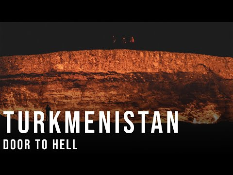 Turkmenistan - The Empty City to the Gates of Hell