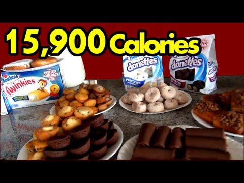 The Sweetest Food Challenge in the History of Ever  (Hostess Snack Challenge) | Matt Stonie