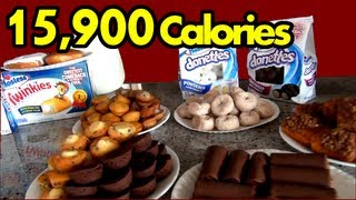 """The Sweetest Food Challenge in the History of Ever"" (Hostess Snack Challenge)"