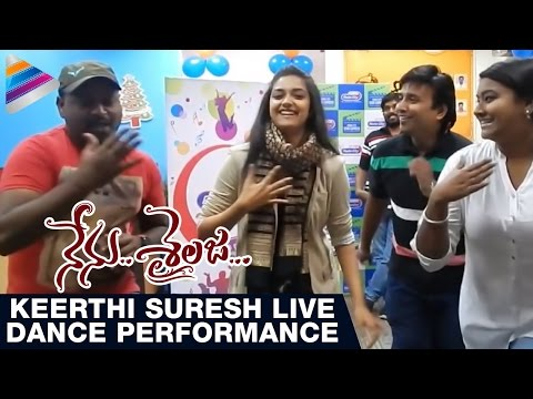Keerthi Suresh Dances to Crazy Feeling Song   Nenu Sailaja Telugu Movie   Telugu Filmnagar