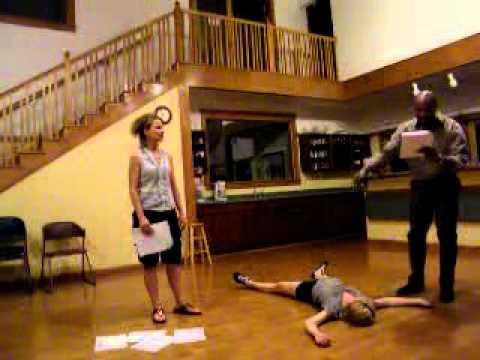 Othello, Act V, Sc. ii - Othello Takes a Beating