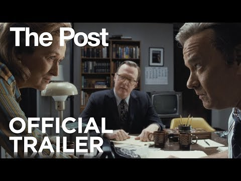 The Post | Official Trailer [HD] |Steven Spielberg |Meryl Streep |Tom Hanks.