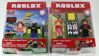 Roblox High School and Mad Studio Pack Toy Figures
