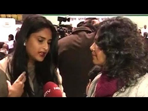 Ramya, the youngest MP, on attending her first AICC session