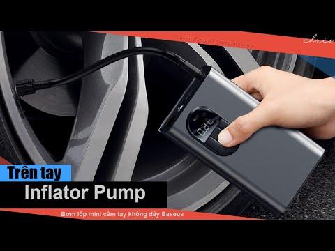 Bơm lốp mini cầm tay không dây Baseus Energy Source Inflator Pump
