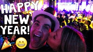 MY FIRST NEW YEARS KISS!!