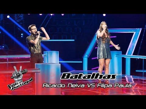 "Ricardo Neiva VS Filipa Paula – ""Safe Inside"" | Battle | The Voice Portugal"
