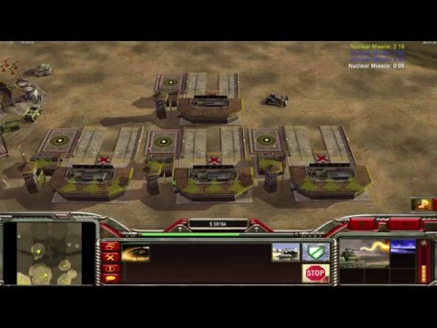 Command and Conquer Generals Zero hour 1v3 multiplayer with friends