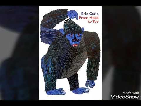 로지의 영어동화/from head to toe(with song)/에릭칼/노부영노래/영어책읽기/영어노래 - YouTube