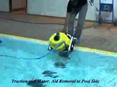 Hexagone chrono 450 swimming pool cleaner