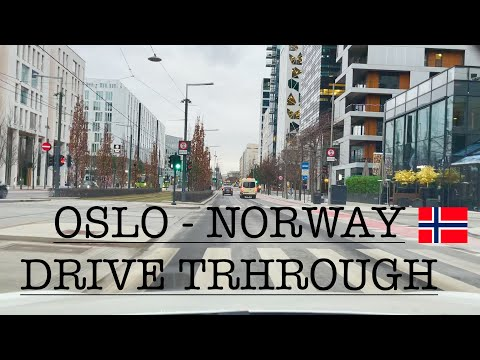 OSLO - NORWAY - DRIVE THROUGH