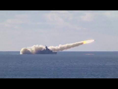 RAW: Russian Navy test-fires missiles 'to repel air strike' in Crimea