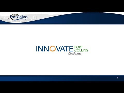 view Innovate Fort Collins Challenge 2018 video