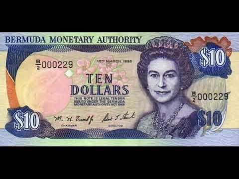 Paper money of Bermuda is the Bermuda Dollar - bills - bonistika