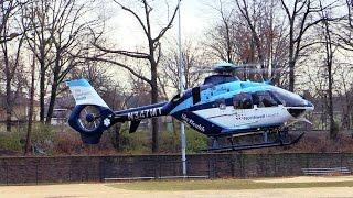 Passaic NJ Medevac Transport SKY HEALTH Yale Northwell New Haven, Conn Helicopter @ 3rd Ward Park