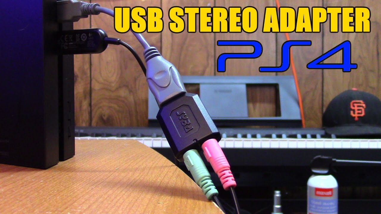 usb stereo adapter for ps4 headsets by xzulas youtube [ 1280 x 720 Pixel ]