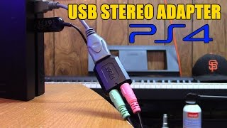 fREE YOUR CONTROLLER! USB stereo adapter for PS4 Headsets by Xzulas