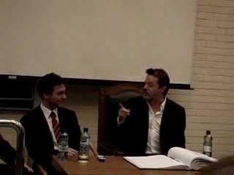 Eddie Izzard at UCD (On Winning the James Joyce Award)