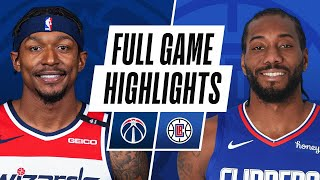 WIZARDS at CLIPPERS | FULL GAME HIGHLIGHTS | February 23, 2021