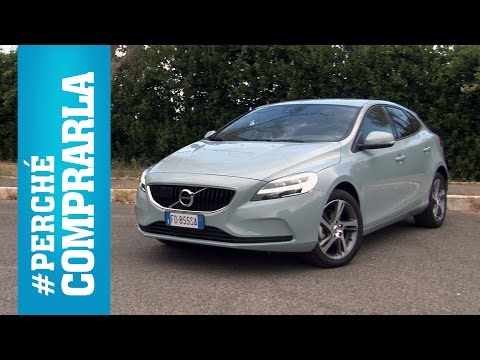 Volvo V40 restyling (2016) | Perché comprarla... e perché no