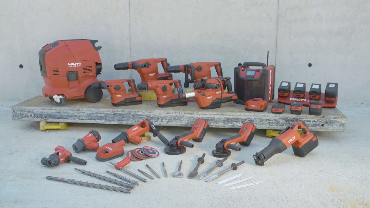 Hilti 36 volt advantage