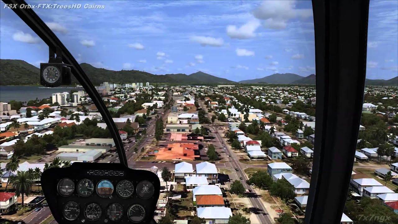 FSX Orbx-FTX Trees HD Cairns International Airport