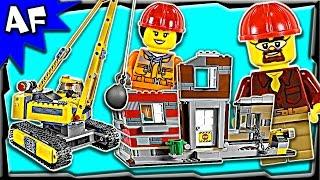Lego City Construction Demolition Site 60076 Stop Motion Build Review