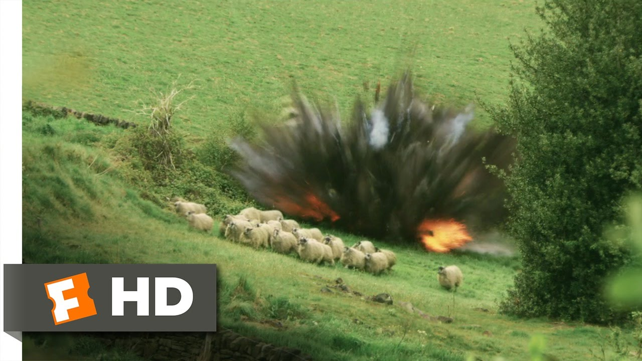 Four Lions (9/11) Movie CLIP - Fessal Takes Out a Sheep