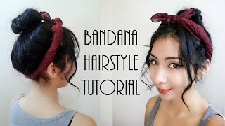 Bandana Hairstyle Tutorial | ClassySassy