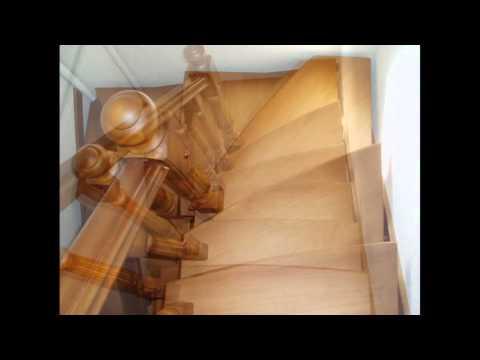 Сходи Дубові, Лестницы