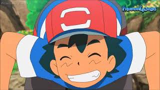 Ash Twerks His Booty In Front Of the Girls! Pokémon Sun & Moon Anime English Subbed HD