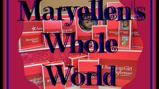 See It All~opening American Girl Doll Maryellen Larkin ~whole World Collection Haul