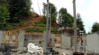Lightning Rod construction first look HD Dollywood