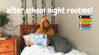 INGRID'S AFTER SCHOOL NIGHT ROUTINE