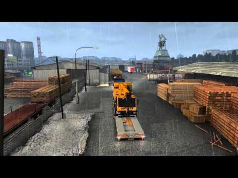 Euro Truck Simulator 2 Tripolis to Trikala