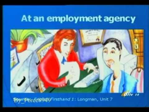 ภาษาอังกฤษเพื่อการสื่อสาร 2 Unit 14 I think I'd like that job Force8949